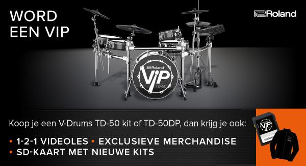 V-Drums TD-50 VIP: Next Level Drumming, Upgraded!