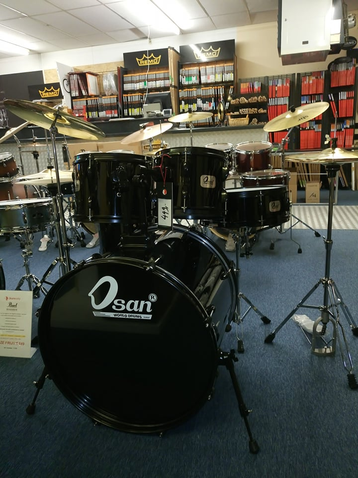 Super Osan World Compleet drumstel - Drums Only OQ-68